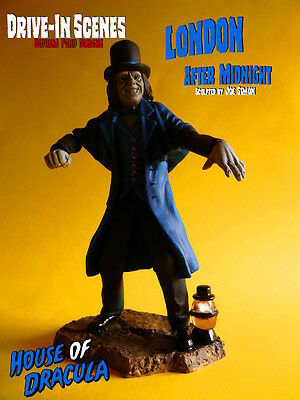 London After Midnight, Drive-In Scenes Resin Model Kit, Fits With Monster Scenes