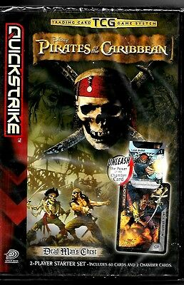 Pirates Of The Caribbean Dead Mans Chest Trading Card Tcg Game Mint & Sealed
