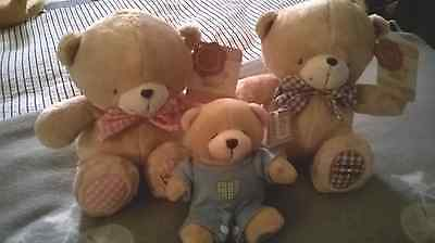 Forever Friends vintage style range Plushies Lot BNWT