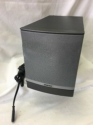 Bose Companion 3 Series II Subwoofer Works Great/tested *Free Fast Shipping*