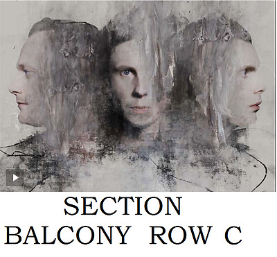 2 tickets Sigur Ros atPlace des Arts, Montreal Tue, May 30, 2017, 8:00 pm EDT