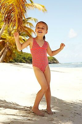 Melissa Odabash Kids Baby Red Striped Swimsuit 2 Years