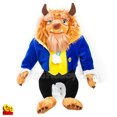 """Disney Collection Beauty and the Beast - Beast 15"""" Plush Doll Toy NEW"""