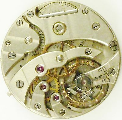 Hy Moser Wristwatch Movement - High-Grade - Spare Parts, Repair!