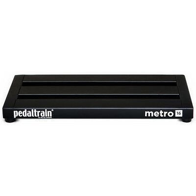 "Pedaltrain Metro 16 Guitar Effects Pedal Board 16"" Pedalboard with Soft Case"