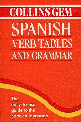 Collins Gem: Spanish Verb Tables and Grammar (Paperback)
