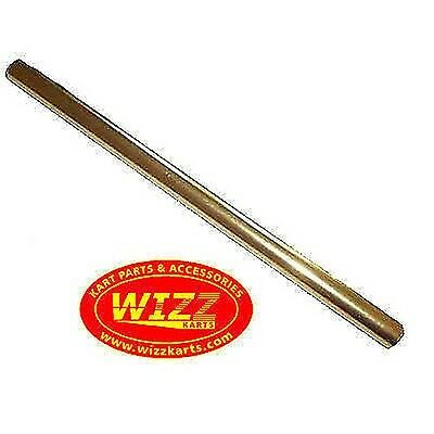 M8 x 285mm Gold Alloy Round Track Rod High Quality WIZZ KARTS