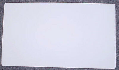White Blank Multipurpose Playmat Play Mat Game PAD MAT 1/16 INCH Thick