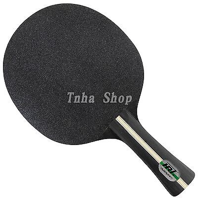 HRT Black Crystal Carbon Table Tennis / Ping Pong Blade, NEW!