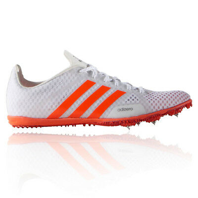 Adidas Adizero Ambition Womens White Running Track Spikes Shoes Trainers