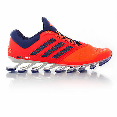 Adidas Springblade Drive 2 Mens Red Orange Running Sports Shoes Trainers