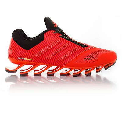 Adidas Springblade Drive 2 Mens Red Running Road Sports Shoes Trainers