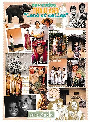 postcard post card THAILAND Land of smiles #31