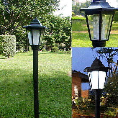 Solar Yard Lamp Solar Power LED Lighting Outdoor Pathway Garden Cold/Warm Light