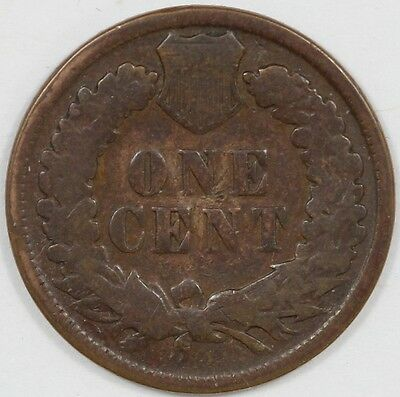 1898 United States Indian Head One Cent Coin