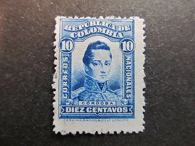 A3P25 Colombia 1923-24 10c used #7