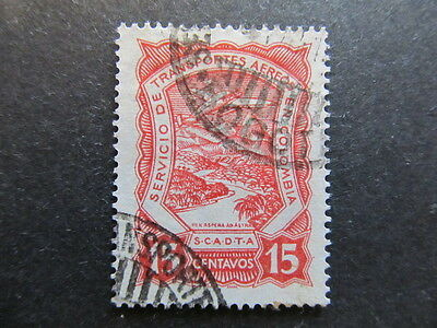 A3P25 Colombia Air Post Scadta 1923-28 15c used #32