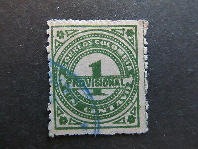 A3P25 Colombia 1926 1c used #17