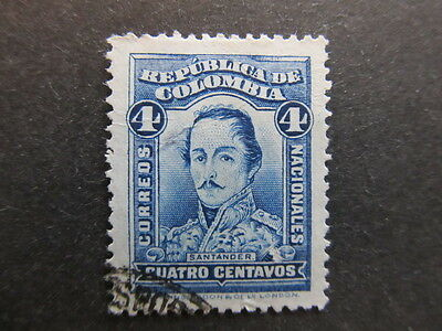 A3P25 Colombia 1926-29 4c used #8