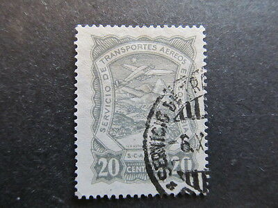 A3P25 Colombia Air Post Scadta 1923-28 20c used #33