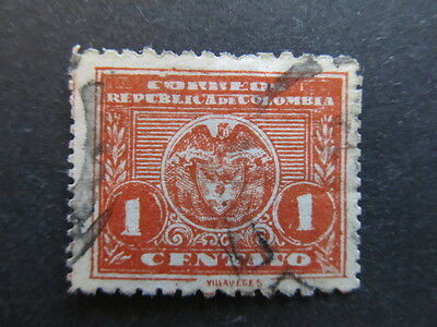 A3P25 Colombia 1924-25 1c used #9