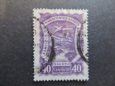 A3P25 Colombia Air Post Scadta 1923-28 40c used #35
