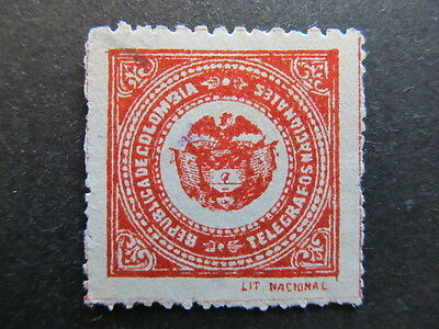 A3P25 Colombia Telegraph Stamp used #16