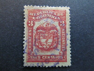 A3P25 Colombia 1920 3c used #3
