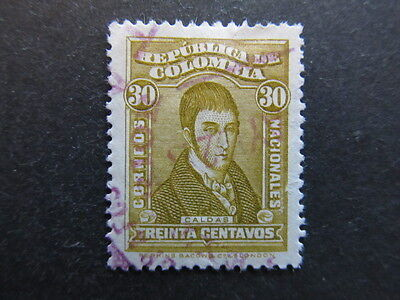 A3P25 Colombia 1926-29 30c used #5
