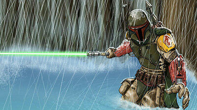 Star wars boba fett Home Decor HD Canvas Print wall art painting NO Frame 24F419