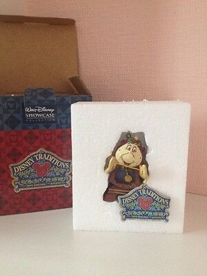 Disney Showcase Collection Cogsworth Hanging Ornament