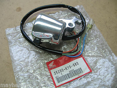 Honda Cg125 Lh Indicator Horn Switch 35200-Ky0-980 Nos *fast Postage*