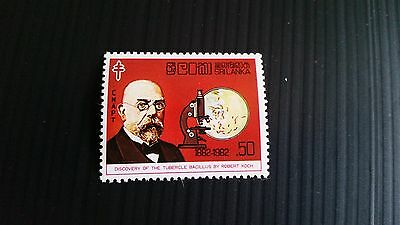 Sri Lanka 1982 Sg 777 Cent Of Robert Kochs   Mnh