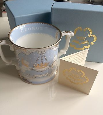 Royal Trust Collection Loving Cup Prince George Royal Baby