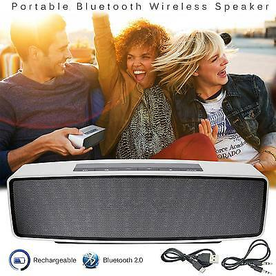 Hi Portable Bluetooth Speaker Stereo Wireless Powerful Smart Support TF AUX USB