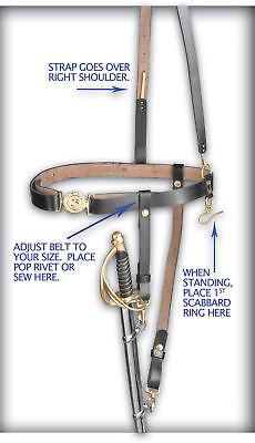 Civil War Sword Belt