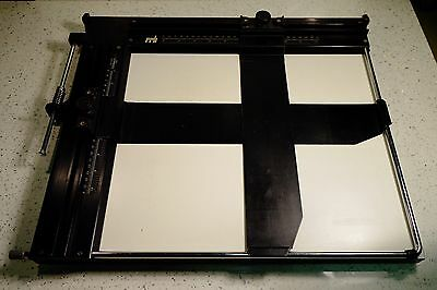 RRB Beard 10x12 Professional 2 Blade Easel Photographic Darkroom