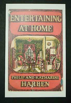 Cookery Postcards (Penguin) - Entertaining At Home (1951) New