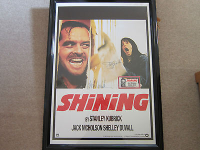 Signed Shining Poster