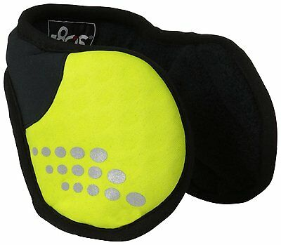 180s Strobe I Ear Warmer, Lime Punch, One Size