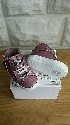 Bnib, Michael Kors Baby Girl Trainers - U.k. Size: 0.5 Infant.  Rrp £53