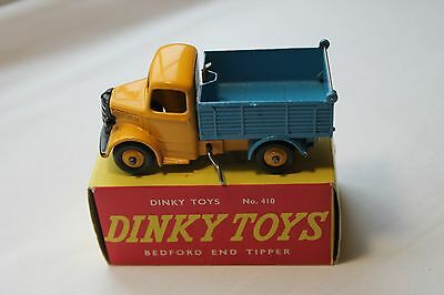 Dinky 410 Bedford End Tipper Near Mint.  Issued 1954-61.