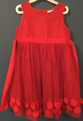 Girls Red Next Dress Age 1 & 1/2-2 Years 18-24 Months