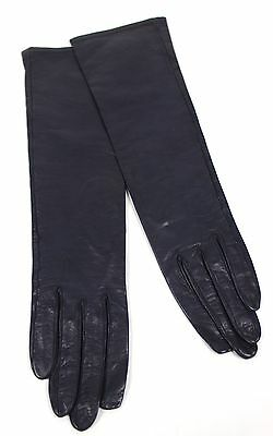 Vintage Gloves Women's Black Leather Antique Gloves from Saks Fifth Avenue