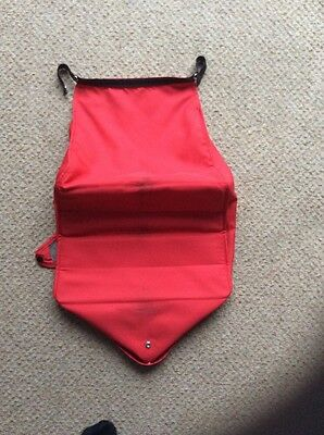 PHIL AND TEDS SPORT BASKET RED  - DASH Model NO RIPS OR HOLES