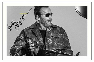 4x6 SIGNED AUTOGRAPH PHOTO PRINT OF ARNOLD SCHWARZENEGGER THE EXPENDABLES 3 #42