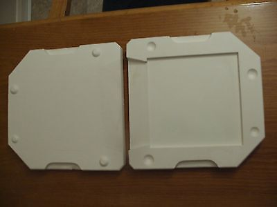 "Slip Moulds For Pottery - 8"" Tile"