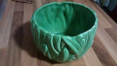 Lovely Sylvac plant holder. Green hyacinth design No 4132. Made in England