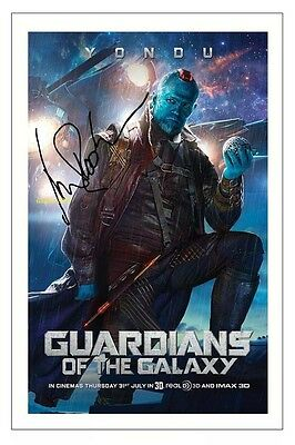 4x6 SIGNED AUTOGRAPH PHOTO PRINT OF MICHAEL ROOKER GUARDIANS OF THE GALAXY #42