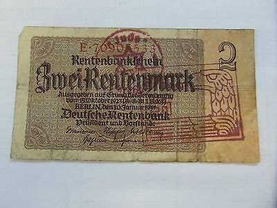 Germany occupation banknote WWII/WW2 18